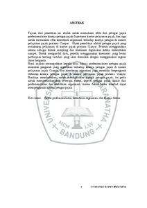 thesis pajak