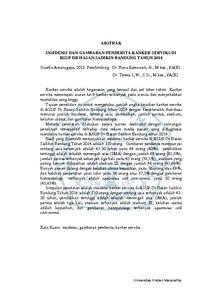 Insidensi dan Gambaran Penderita Kanker Serviks di RSUP dr ...